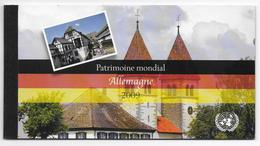 ONU - 2009 - CARNET DE PRESTIGE De GENEVE - PATRIMOINE MONDIAL : ALLEMAGNE - - Carnets