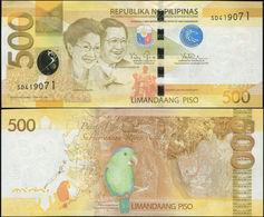 PHILIPPINES 500 PISO (P210a) 2014 UNC - Philippines