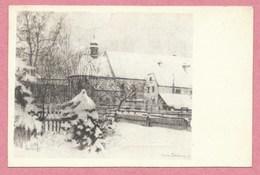 68 - GUEBWILLER Ou Environs - Chapelle - Eglise - Carte Illustrée Par Camille SCHLUMBERGER - Unclassified