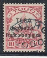 TOGO  OCCUPATION FRANCO-BRITANNIQUE  No 45 SIGNE CALVES A MONACOPHIL  COTE 580 EUROS - Unused Stamps