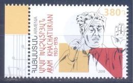 2019. Armenia, A. Khachaturian, Composer, 1v, Mint/** - Armenia