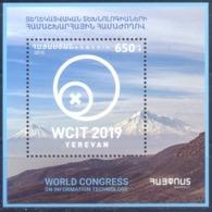 2019. Armenia, World Congress Of Information Technology, S/s, Mint/** - Armenia