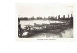 Cpa - 67 - Gerstheim - Pont Du Rhin - Félix Luib - Frankreich