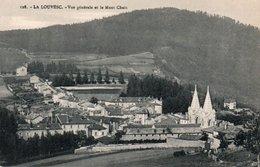 CPA LA LOUVESC - VUE GENERALE ET LE MONT CHAIX - La Louvesc