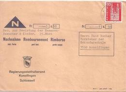 NN Brief  Schlosswil (Bern) - Konolfingen           1966 - Svizzera