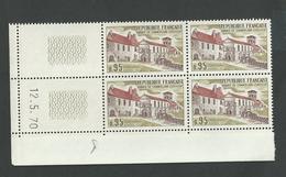 Coin Daté N° 1645 Abbaye De Chancelade Du 12 5 1970 ** - Dated Corners