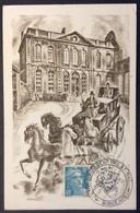 CM807 XXIVème Congrès Exposition Philatélique Nationale 810 Marianne Gandon Bordeaux 12/5/1951 Carte Maximum - 1950-59