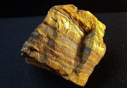 Rough Golden Tiger Eye ( 4 X 3 X 3 Cm ) - Prieska - Pixley Kaseme Distr. Nothern Cape - South Africa - Mineralen
