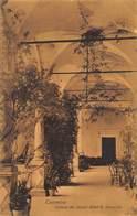 TAORMINA SICILY ITALY~CERTOSA Del GRAND HOTEL S DOMENICO~G ATTANASIO SEPIA PHOTO POSTCARD 42662 - Altre Città