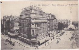 33 - BORDEAUX - Maison Gobineau Et Cours Du XXX Juillet / 1915 - Bordeaux