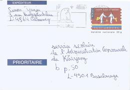 Luxembourg 2019 Polar Bear Domestic Postal Stationary Cover - Entiers Postaux