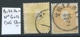 AUTRICHE : N°6 + N° 11. Cote 560 €. - 1850-1918 Empire