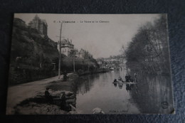 CPA Animée - UZERCHE (19) - La Vézère Et Les Châteaux - Uzerche