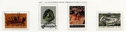 Grèce - Griechenland - Greece 1966 Y&T N°890 à 893 - Michel N°913 à 916 (o) - Théâtre Grec - Grèce