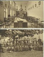 Ave - 2 Cartes - Petit Séminaire Ste Thérèse De L'enfant Jésus - Missions Africaines.    (2 Scans) - Rochefort