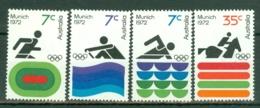 Australia: 1972   Olympic Games, Munich     MH - 1966-79 Elizabeth II