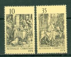 Australia: 1974   Christmas Woodcuts By Durer    MNH - 1966-79 Elizabeth II