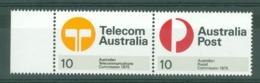 Australia: 1975   Inauguration Of Australian Postal And Telecommunications Commissions    MNH Pair - 1966-79 Elizabeth II