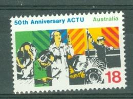Australia: 1977   50th Anniv Of Australian Council Of Trade Unions  MNH - 1966-79 Elizabeth II