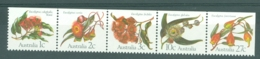 Australia: 1982   Eucalyptus Flowers    MNH Strip Of 5 - Mint Stamps