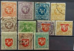 LITHUANIA 1920 - MLH/canceled - Sc# 50-60 - Complete Set! - Litauen