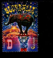 CEPT Zirkus Slowenien 403 Gestempelt Used - 2002