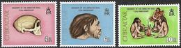GIBRALTAR (1973) - Découverte Homme Préhistorique. Néanderthal. Préhistoire. Prehistoric Man. MNH. - Préhistoire