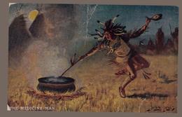 Rétro Rare Vintage Europe 1901 Amérindien - Indiani Dell'America Del Nord