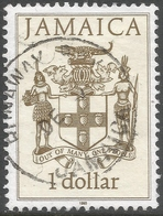 Jamaica. 1987 Portraits. $1 Used. SG 690A - Jamaica (1962-...)