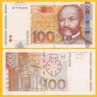 Croatia 100 Kuna P-41b 2012 UNC Banknote - Kroatië