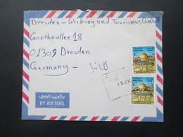 Irak / Iraq Air Mail Letter / Luftpost Nach Dresden Aus Kirkuk über Khabul - Iraq