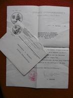 LETTRE AUTOGRAPHE SMAGGHE INSTITUT OCÉANOGRAPHIQUE FONDATION PRINCE DE MONACO PRIX KORN DECERNE A CALLAMAND 1945 - Autogramme & Autographen