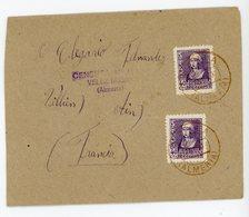 ESPAGNE ENV 1939 MARIA ALMERIA CENSURA MILITAR VELLZ RUBIO (ALMERIA) - 1931-50 Briefe U. Dokumente