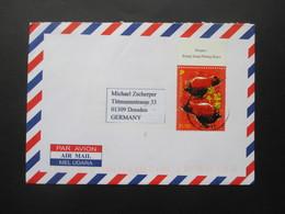 Singapur 2009 1,10 Dollar Marke Vom Oberrand Motiv Bullen / Stiere Singapore - Dresden - Singapur (1959-...)