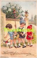 CPA CHROMOLITHO DESSIN ENFANT CHILDREN DRAWN CARD BEGRO ( FLATSCHER BAUMGARTEN ? ) - Dessins D'enfants