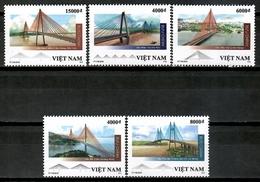 Vietnam 2019 Viet Nam / Architecture Bridges MNH Arquitectura Puentes Brücken / Cu15233  32-3 - Puentes