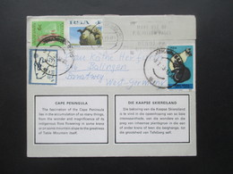 Süd Afrika RSA South Africa Cape Peninsula / Kaapse Skiereiland Lettercard / Leporello - Cartas