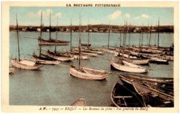 22 ERQUY - Les Bateaux De Pêche - Vue Générale Du Bourg - Erquy