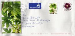 Le Persil, Nouveau Timbre Danemark, Sur Lettre, Adressée Andorra, Avec Timbre à Date Arrivée - Lettere