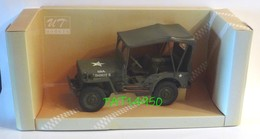 JEEP WILLYS MILITAIRE ECH 1/18 Marque UT MODELS - Militaria