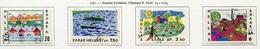 Grèce - Griechenland - Greece 1967 Y&T N°940 à 943 - Michel N°962 à 965 (o) - Dessin D'enfants - Grèce