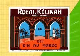 Etiquette De Vin : Royal KELINAH Vin Du MAROC - Sud Africa