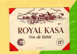 Etiquette De Vin : Royal KASA - Sud Africa
