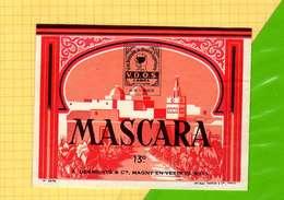 Etiquette De Vin : MASCARA 13° - Sud Africa