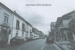 Cervinara (AV)  Via Roma  (Cartolina Ricordo) - Avellino