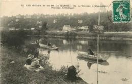 94* LA VAREnnE   Marne - Pecheurs - Francia