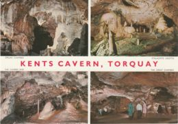 Postcard - Kents Cavern, Torquay - Four Views - Card No..ckcd3 Unused Very Good - Postcards