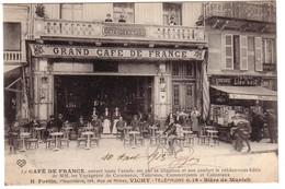 VICHY - Le Café De France  Propriètaire  H.FORTIN  Au 194 Rue De Nîmes. - Vichy
