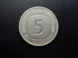 RÉPUBLIQUE FÉDÉRALE ALLEMANDE : 5 MARK   1980 D  Tranche A *    KM 140.1      SUP - [ 7] 1949-… : RFA - Rep. Fed. Alemana
