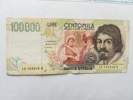ITALIA 100000 LIRE 1994 - [ 2] 1946-… : Republiek
